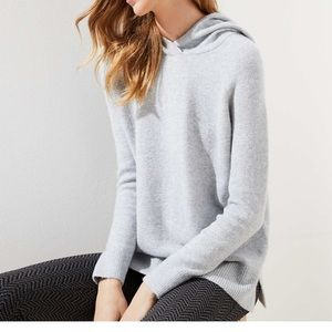 LOFT Hooded Sweater - Size Medium